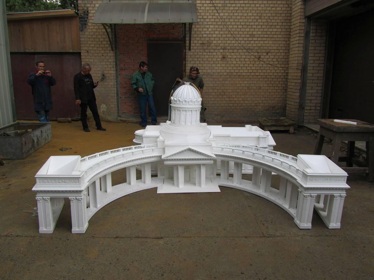 Макет исторического здания своими руками